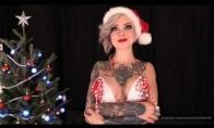 Kalėdinis Sara X sveikinimas