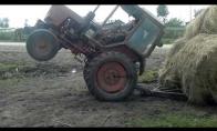 Greitas ir įsiutęs traktoristas