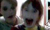 Išsigandusių vaikų reakcija