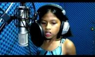 10-metė dainuoja Celin Dion dainą