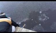 Sprogdinam raketą po ledu