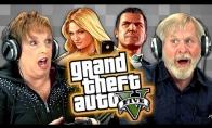 Senelių įspūdžiai, žaidžiant GTA