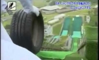 Kaip japonai išbando naujas padangas?