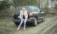 Kaip parkuojasi moterys