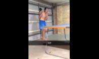 Kaip reikia žaist ping-pongą?