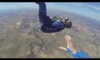 Parašiutininką ištinka priepuolis