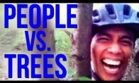 Žmonės vs medžiai