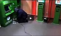 Susprogdino bankomatą