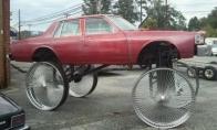 Keisčiausio transporto priemonės
