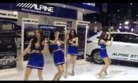 Nesimpatiškas simpatiškų merginų šokis