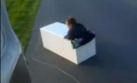 Važinėjantis šaldytuvas