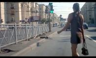 Rusės nemoka pereiti gatvės