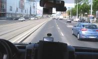 Kietas greitosios vairuotojas