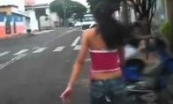 Pirmas kartas ant motorolerio