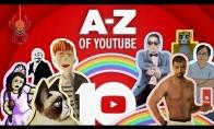 YouTube sveikinimas 10 metų proga