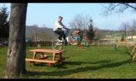 Parkour su dviratuku