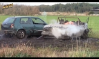 Golfas vs Volvo