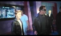 Arnoldas Švarcnegeris trolina muziejaus lankytojus