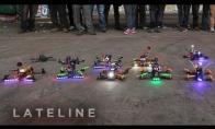 Dronų lenktynės