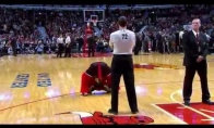 Smagiausi NBA talismano momentai