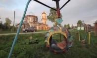 Beprotiškiausia vaikų žaidimų aikštelė Rusijoje