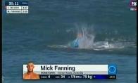 Per varžybas banglentininką užpuola ryklys
