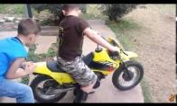 Pirma pažintis su motociklu