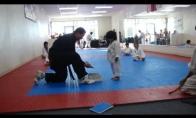Karate vaikio egzaminas
