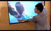 Neįtikėtinas triukas su TV