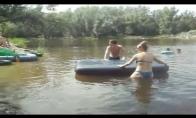 Kaip panaudot čiužinį prie ežero