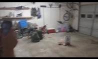 Fejerverkas garaže