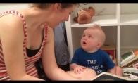 Vaikui nepatinka, kai jo knygos baigiasi