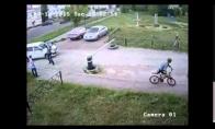 Piktas anti-dviratininkas