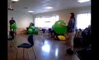 Mirtinas baliono smūgis