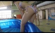Imtynės baseine, kuris yra baseine