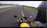 Kaip atrodo pralėkimas 320km/h greičiu