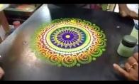 Indiškas gatvės menas per minutę