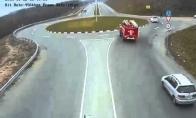 Kai gaisrininkai labai skuba