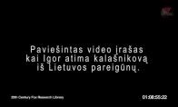 Paviesinta video medziaga kai Igor pavagia kalasnikova...