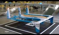 Clarksonas pristato Amazon dronus