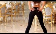 Gražios panelės ir gražus šokis