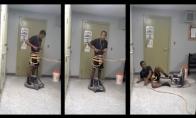 Pasivažinėjimas grindų valymo mašina