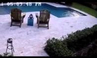 Nelaimė prie baseino