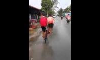 Naujas būdas važiuoti dviračiu