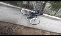 Bausmė dviračių vagims