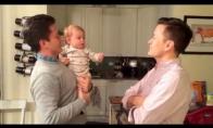 Kūdikis nebeatskiria savo tėčio