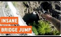 Beprotis nušoka nuo milžiniško tilto