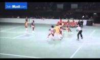 Harlem Globetrotters pasirodymas 1977-aisiais
