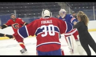 NHL žaidėjai mokosi dailiojo čiuožimo