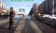 Eilinė diena Rusijos keliuose